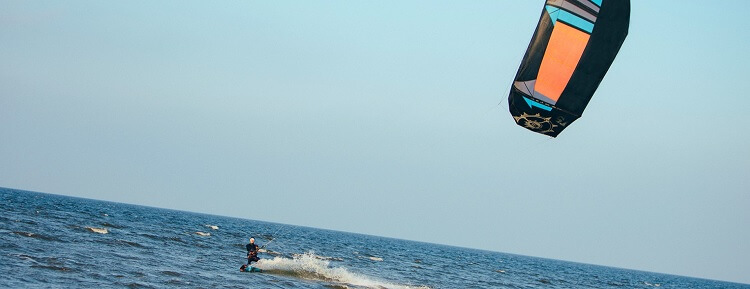 Freestyle Kiteboard Test